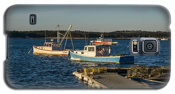Lobster Boats Maine  Galaxy S5 Case