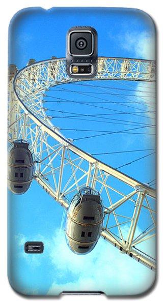 Galaxy S5 Case featuring the photograph London Eye by Rachel Mirror