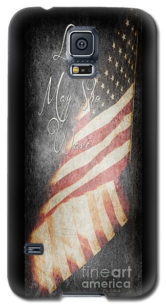 Long May She Wave Galaxy S5 Case
