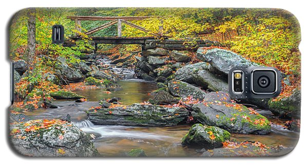 Galaxy S5 Case featuring the photograph Macedonia Brook by Bill Wakeley