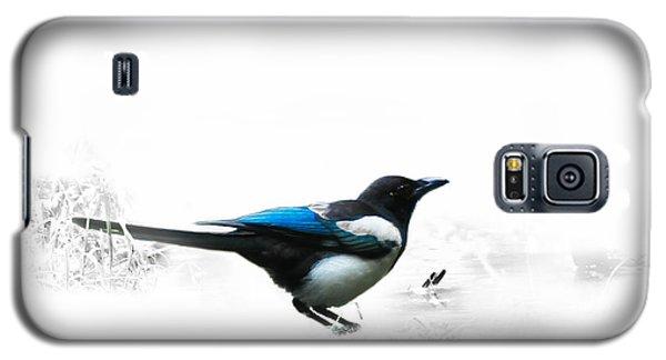 Magpie Galaxy S5 Case by Jivko Nakev