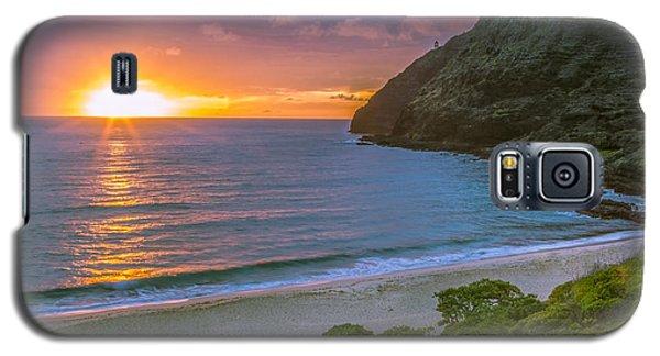 Makapuu Sunrise 1 Galaxy S5 Case