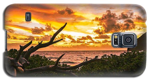 Makapuu Sunrise 4 Galaxy S5 Case