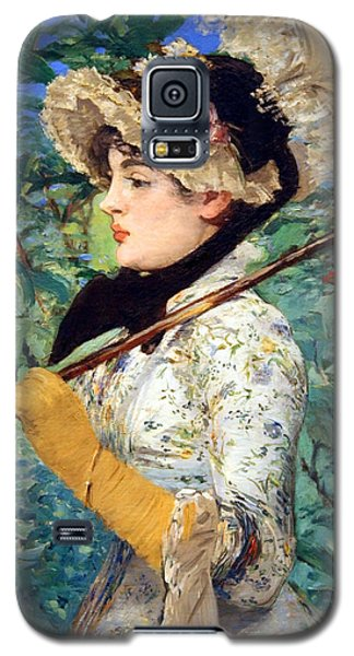 Galaxy S5 Case featuring the photograph Manet's Spring by Cora Wandel