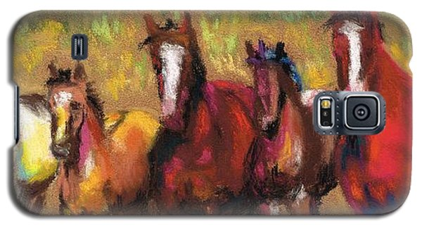 Mares And Foals Galaxy S5 Case