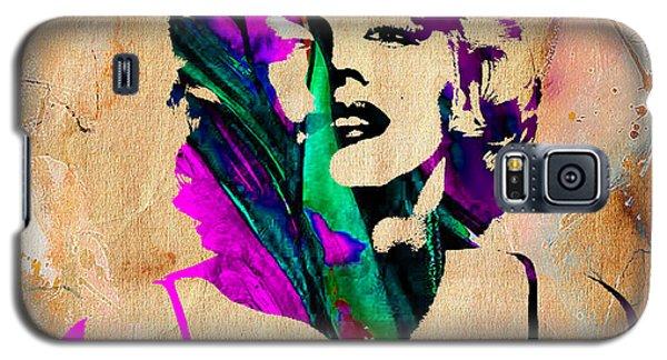 Marilyn Monroe Painting Galaxy S5 Case