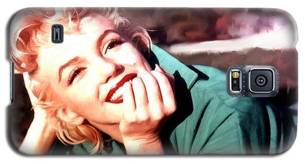 Marilyn Monroe Large Size Portrait Galaxy S5 Case