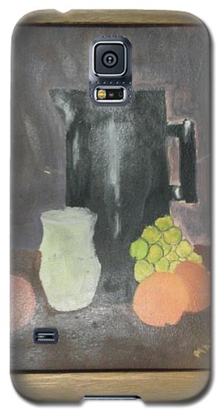 Galaxy S5 Case featuring the painting #2 by Mary Ellen Anderson