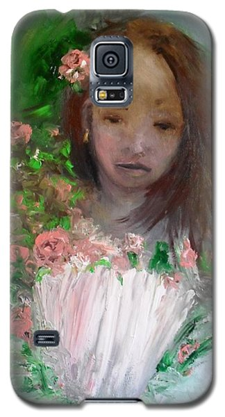 Mary Rosa Galaxy S5 Case by Laurie L