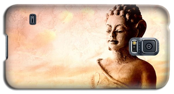Meditating Buddha Galaxy S5 Case by Charline Xia
