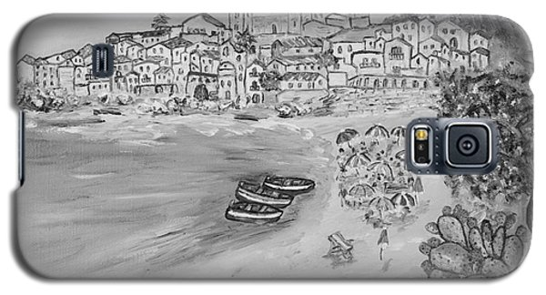 Galaxy S5 Case featuring the painting Memorie D'estate by Loredana Messina