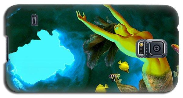 Mermaid Cave Galaxy S5 Case