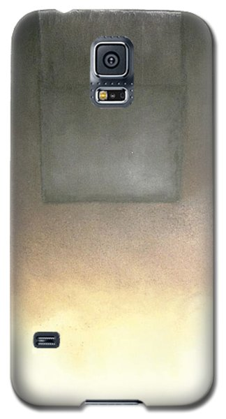 Galaxy S5 Case featuring the mixed media Metaphysics- Malavich Revisited by Carrie Maurer