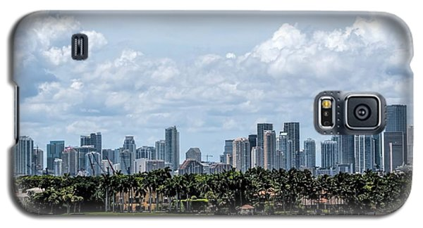 Miami Skyline Galaxy S5 Case