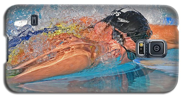 Galaxy S5 Case featuring the photograph Michael Phelps by Duncan Selby