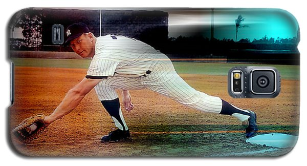 Mickey Mantle Galaxy S5 Case by Marvin Blaine