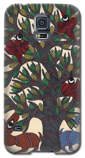 Miniature  Painting - Mughal Galaxy S5 Case