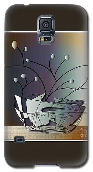 Galaxy S5 Case featuring the digital art Mode by Iris Gelbart
