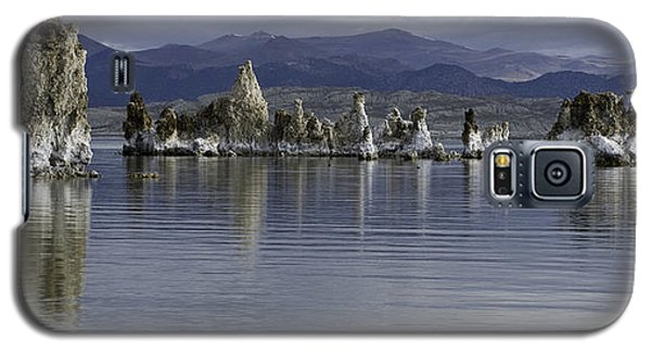Galaxy S5 Case featuring the photograph Mono Lake by Betty Depee