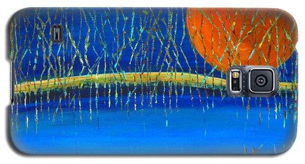 Moon Shadow Galaxy S5 Case by Patricia Januszkiewicz