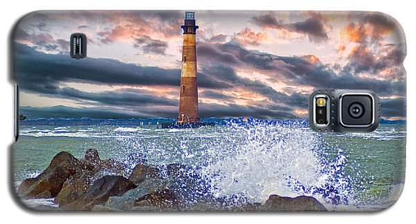 Morris Island Lighthouse Galaxy S5 Case by Bill Barber