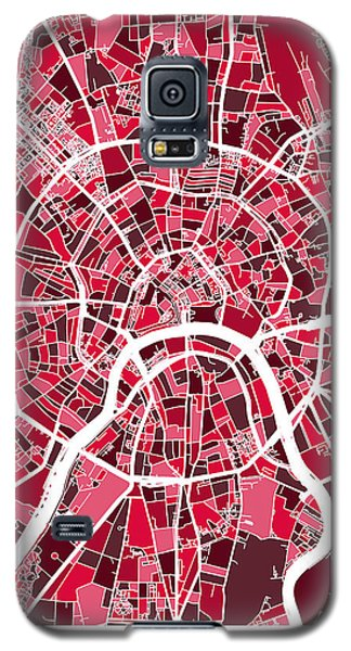 Moscow City Street Map Galaxy S5 Case