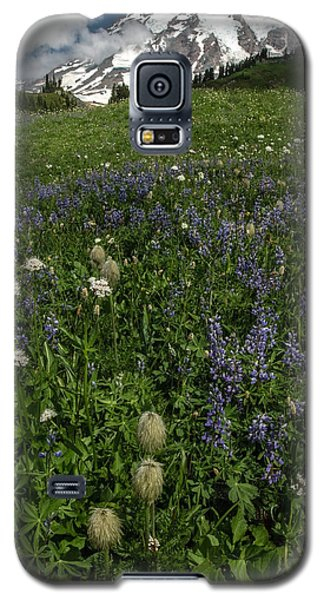 Mount Rainier From Paradise Galaxy S5 Case by Bob Noble Photography
