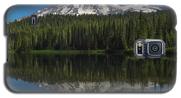 Mount Rainier From Reflection Lake Galaxy S5 Case