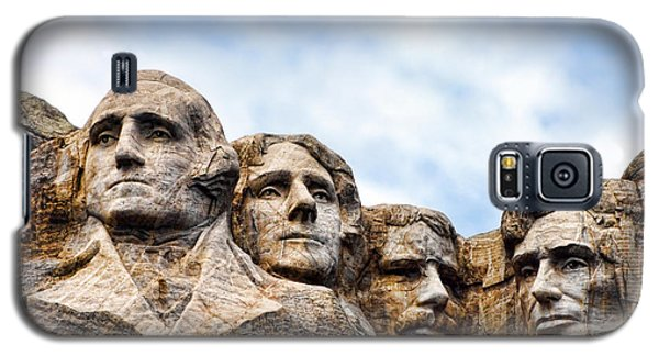 Mount Rushmore Monument Galaxy S5 Case by Olivier Le Queinec
