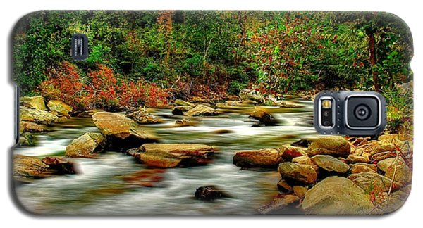 Galaxy S5 Case featuring the photograph Mountain Stream by Ed Roberts