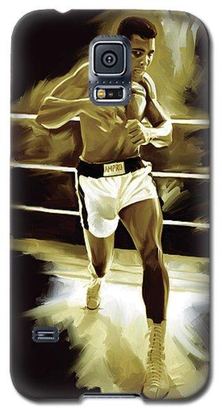 Muhammad Ali Boxing Artwork Galaxy S5 Case