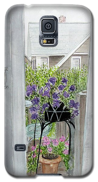 Nantucket Room View Galaxy S5 Case by Carol Flagg
