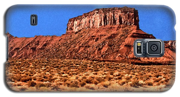 Galaxy S5 Case featuring the painting National Navajo Tribal Park by Bob and Nadine Johnston