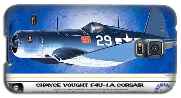 Navy Corsair 29 Galaxy S5 Case by Kenneth De Tore