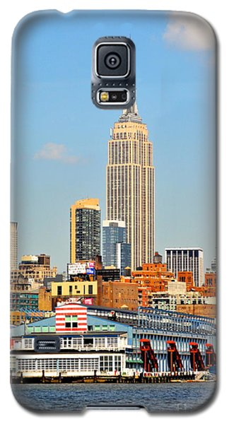New York City Skyline With Empire State Galaxy S5 Case