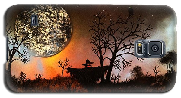 Night Of The Scarecrow  Galaxy S5 Case