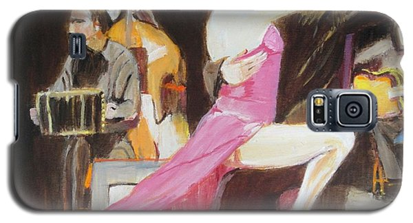 Galaxy S5 Case featuring the painting Night Rhythms by Judy Kay