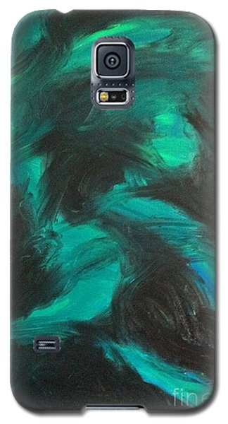 Galaxy S5 Case featuring the painting Northern Light by Jacqueline McReynolds