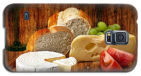 Norwegian Jarlsberg And Camembert Galaxy S5 Case by Gunter Nezhoda
