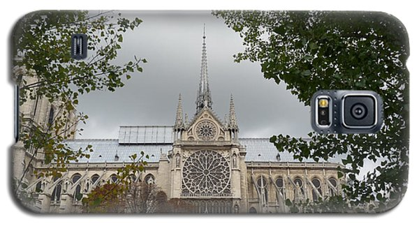 Galaxy S5 Case featuring the photograph Notre Dame Cathedral by Deborah Smolinske