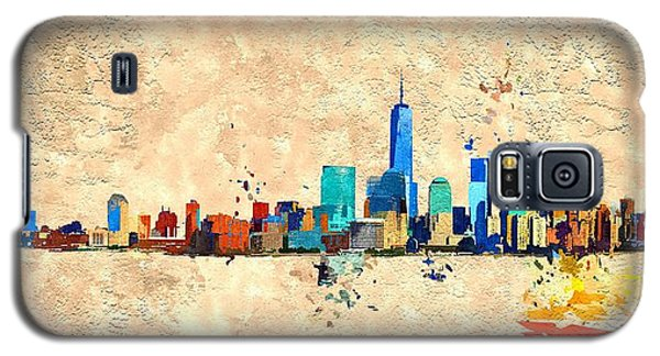 Nyc Grunge Galaxy S5 Case by Daniel Janda