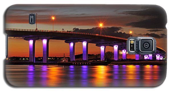 Ocean City Sunset Galaxy S5 Case