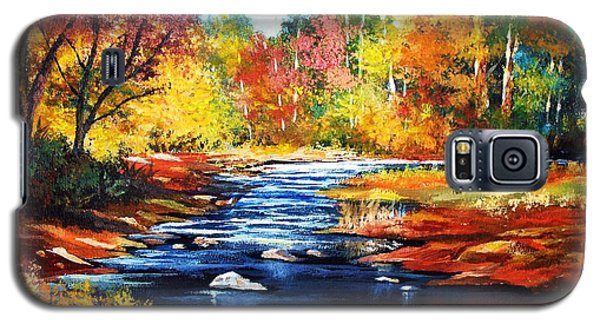 October Bliss Galaxy S5 Case by Al Brown