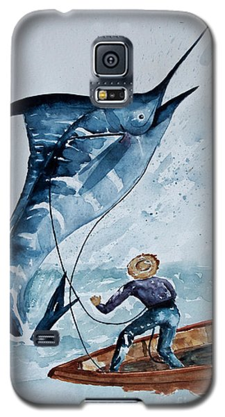 Old Man And The Sea Galaxy S5 Case by Barbara McMahon