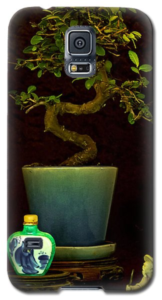 Galaxy S5 Case featuring the photograph Old Man And The Tree by Elf Evans