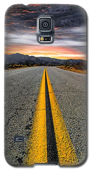 On Our Way  Galaxy S5 Case by Ryan Weddle