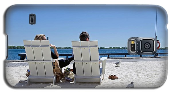 Galaxy S5 Case featuring the photograph On The Waterfront by Keith Armstrong