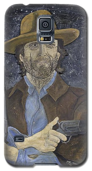 Outlaw Josey Wales Galaxy S5 Case by Eric Cunningham