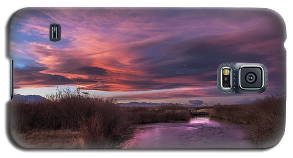 Owens River Sunset Galaxy S5 Case