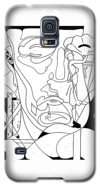 Paint By Number Las Vegas Galaxy S5 Case
